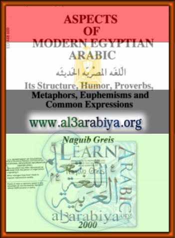 Aspects of Modern Egyptian Arabic: Its Structure, Humor, Proverbs, Metaphors, Euphemisms and Common Expressions.